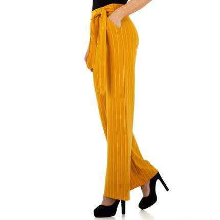 Damen Hose von Holala - yellow
