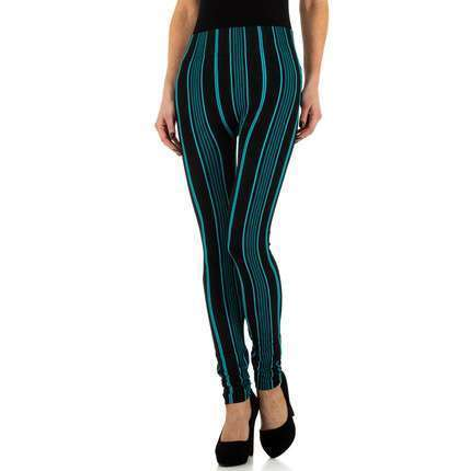 Damen Leggings von Holala Gr. One Size - turkis