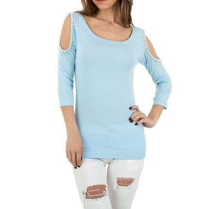 Damen Shirt von MC Lorene Gr. One Size - blue