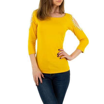 Damen Shirt von MC Lorene Gr. One Size - yellow