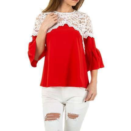 Damen Bluse von MC Lorene - red