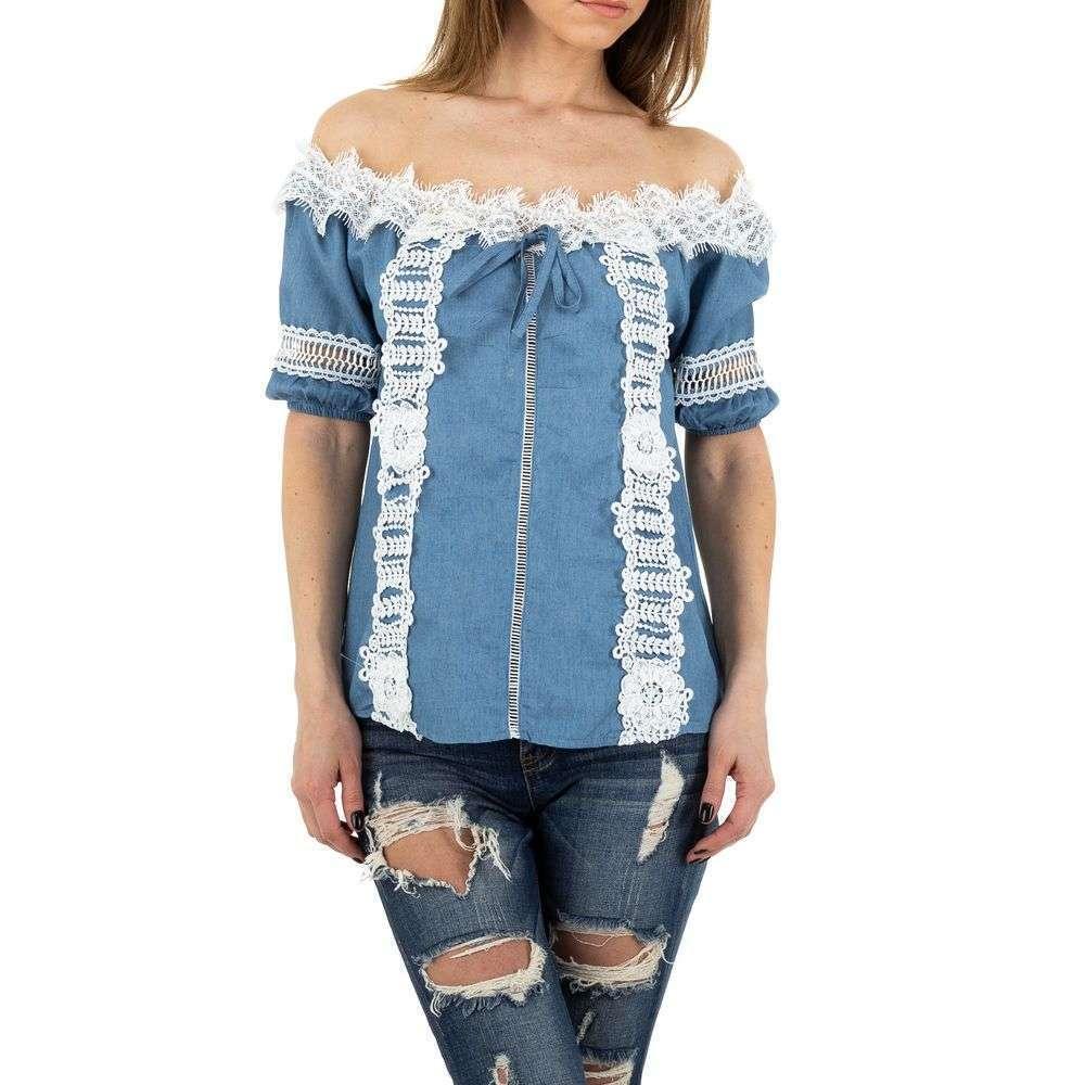 Bluză de damă de MC Lorene - deschis albastră