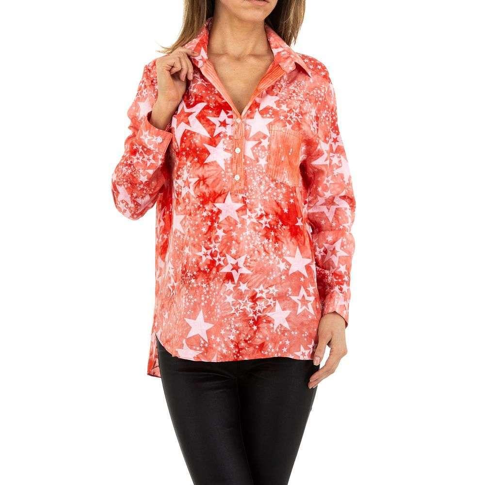 Bluză de dama de Voyelles - roșie