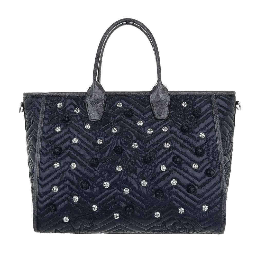 Shopper femme - bleu