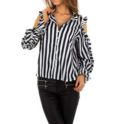 Damen Bluse von Emma&Ashley Design - stripe