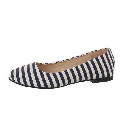 Damen Ballerinas - D.blue