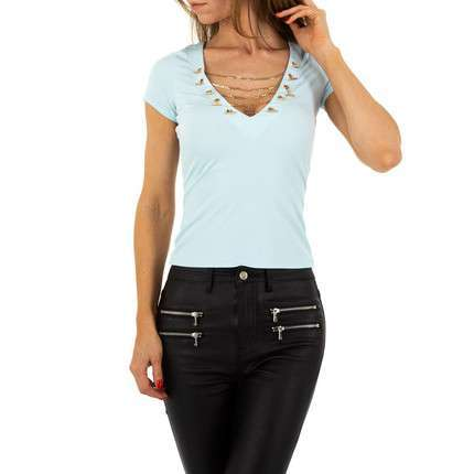 Damen Top von Voyelles - L.blue