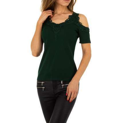 Damen Top von Voyelles - green