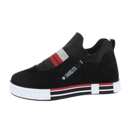 Damen Low-Sneakers - black