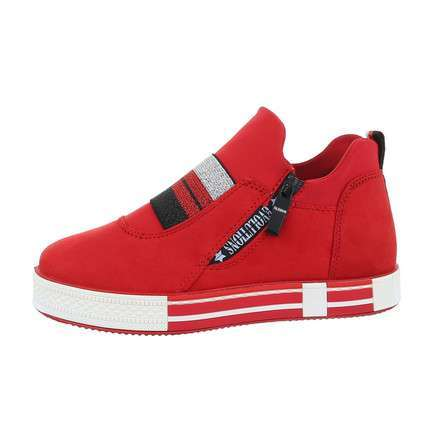 Damen Low-Sneakers - red