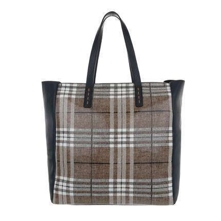 Damen Shopper - cuoioblue