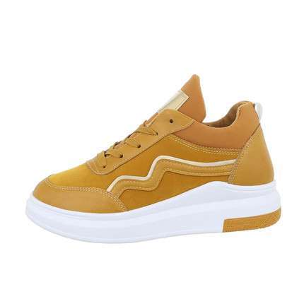 Damen High-Sneakers - yellow