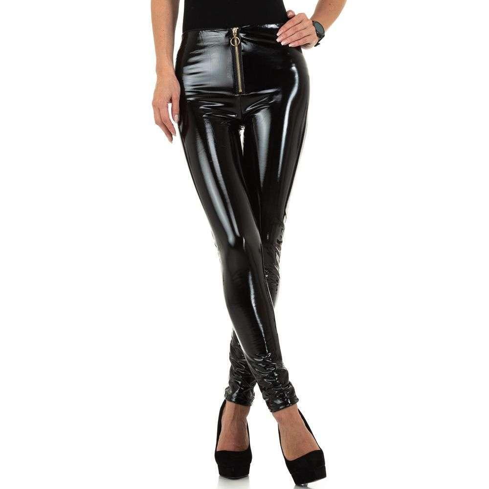 Pantaloni de dama de Voyelles - negri