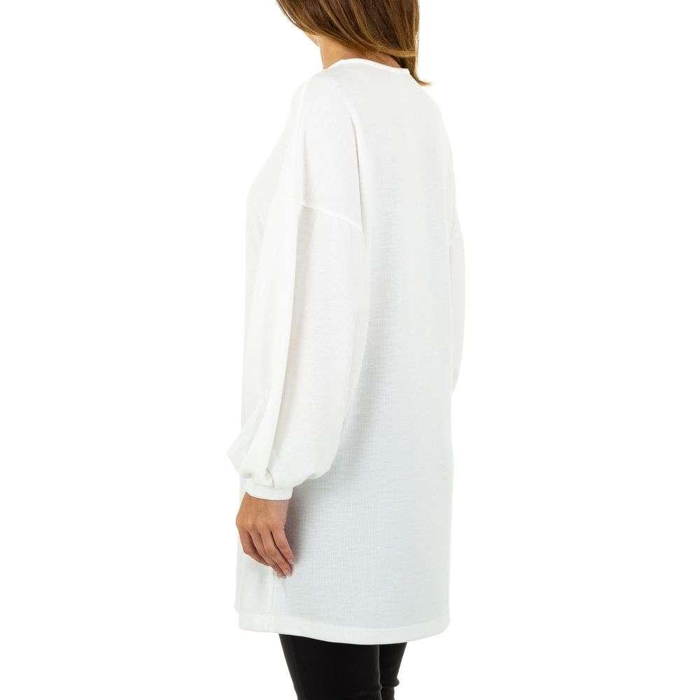 Pulover de dama de la Acos - alb - image 3