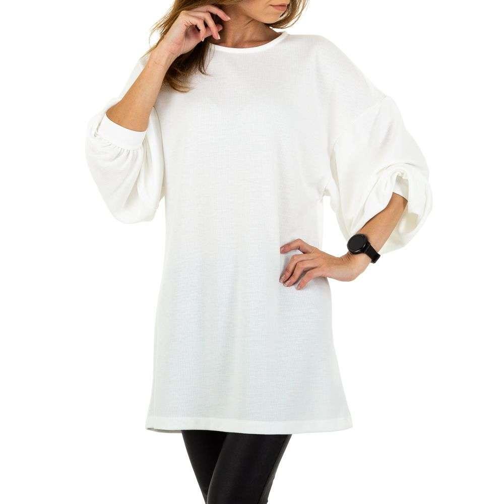 Pulover de dama de la Acos - alb - image 4