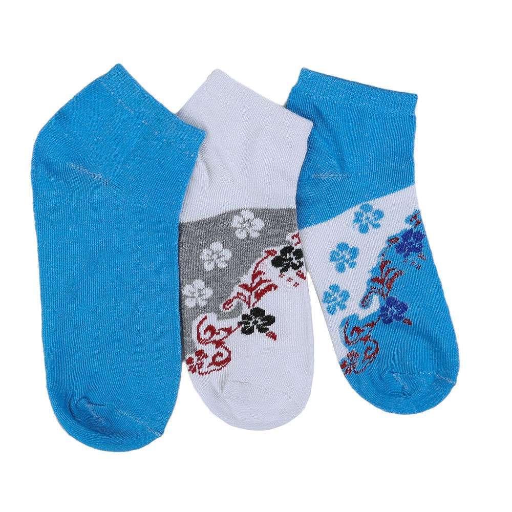 Șosete pentru femei - 12 perechi - albastru