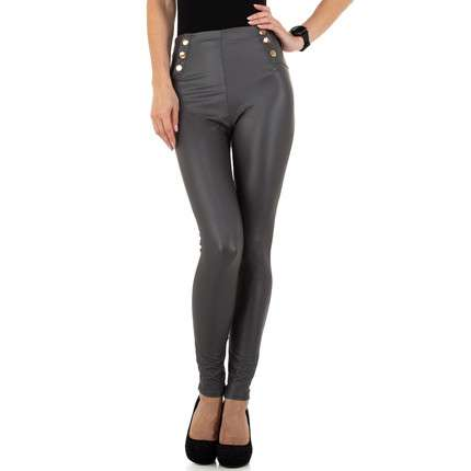Damen Leggings von Holala Fashion - grey