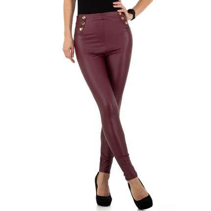 Damen Leggings von Holala Fashion - wine