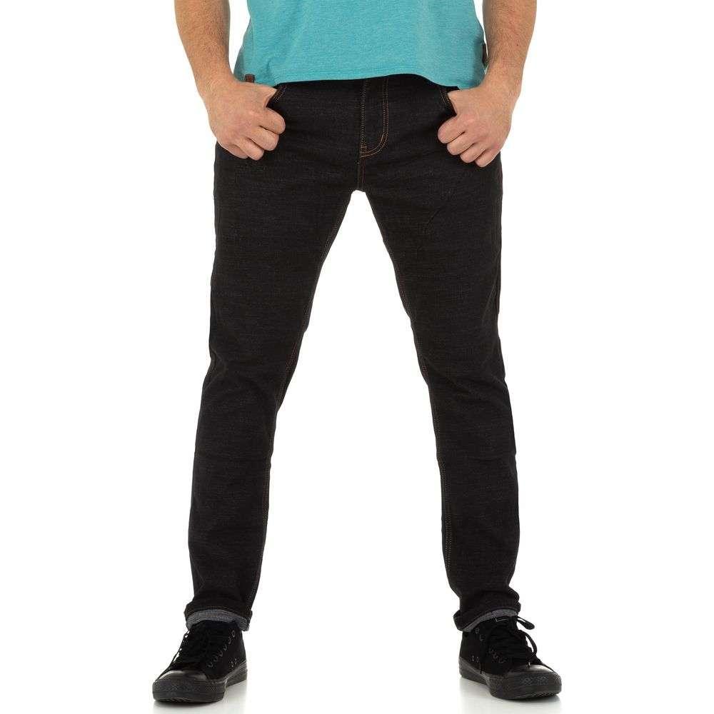 Blugi pentru bărbați de TMK Jeans - negru