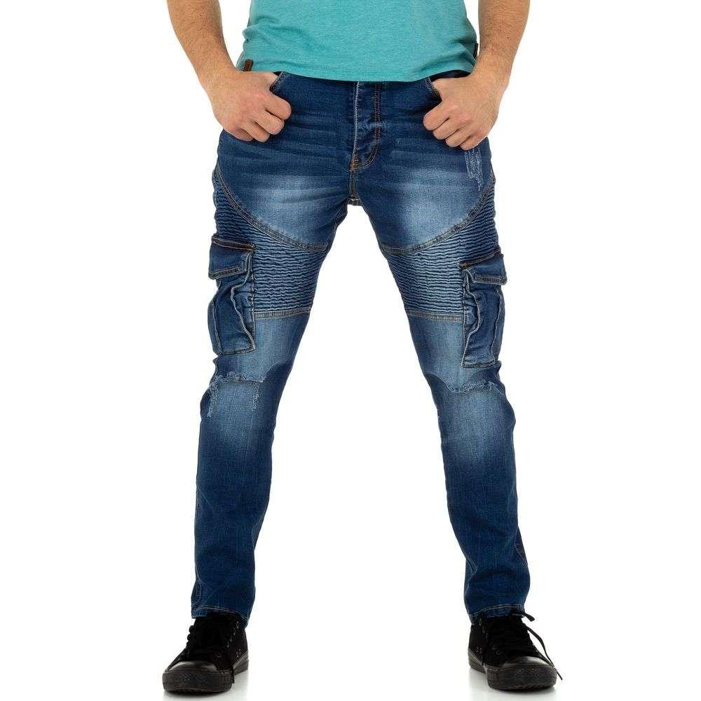 Мужские джинсы Justing Jeans - синие