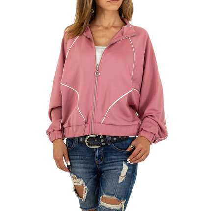 Damen Sweatjacke von Acos - rose