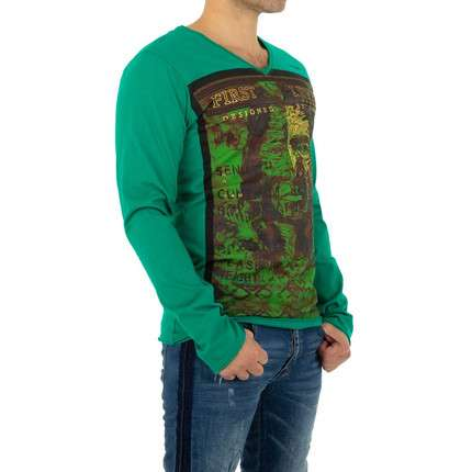 Herren Shirt von Yole Denim - green