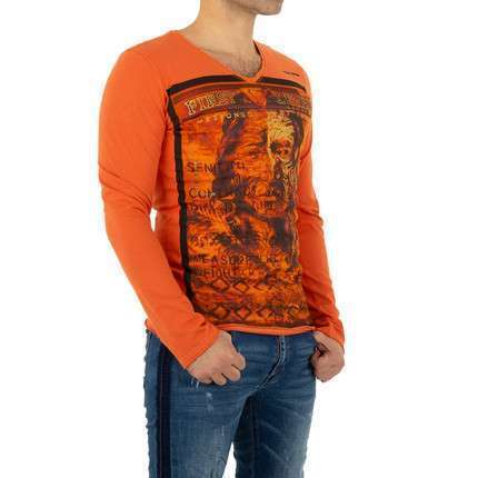 Herren Shirt von Yole Denim - orange
