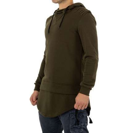 Herren Sweatshirt von Yes Design - armygreen