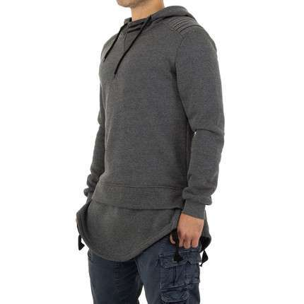 Herren Sweatshirt von Yes Design - grey