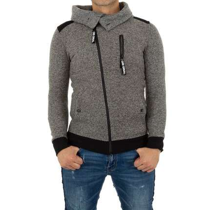 Herren Sweatjacke von Top Star - grey