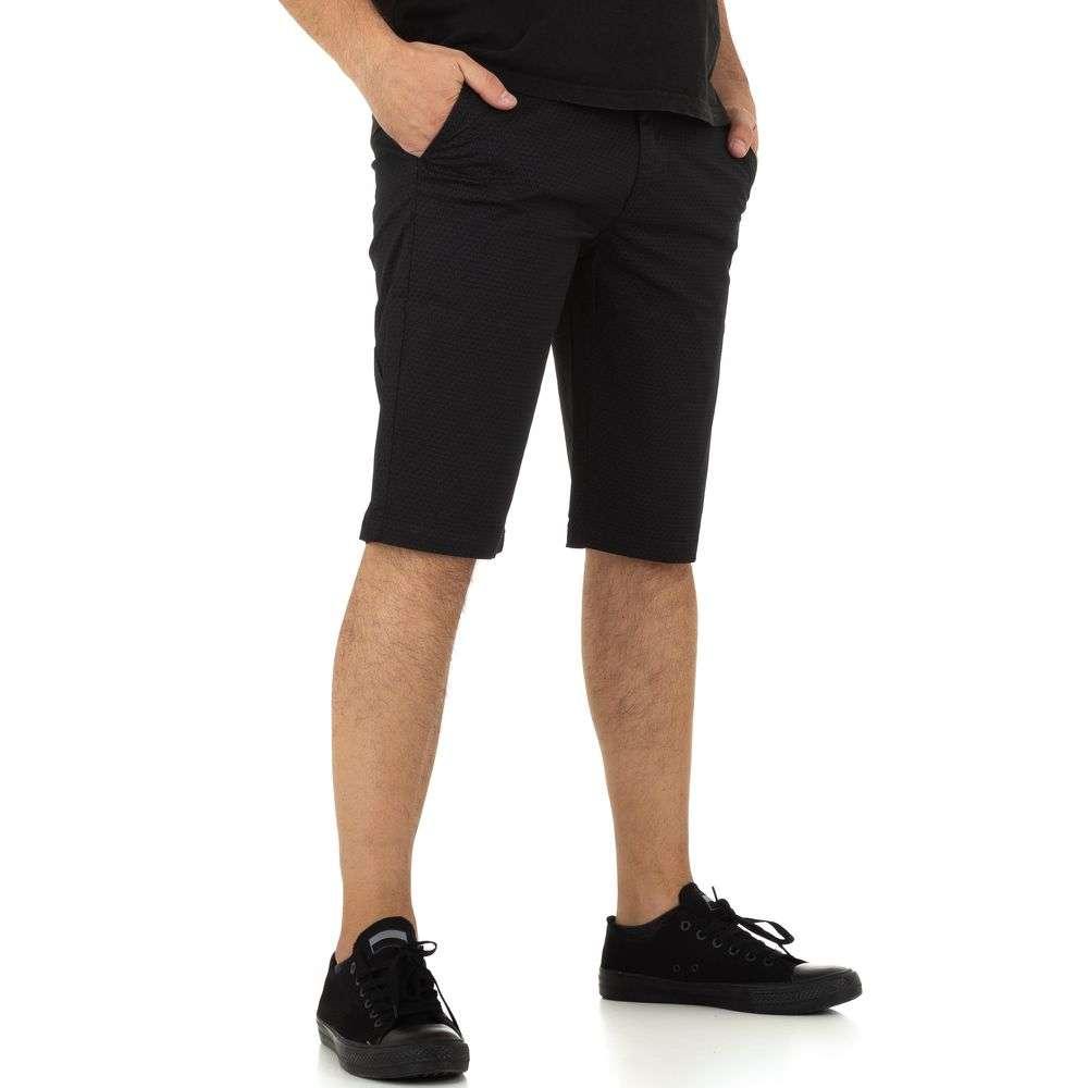 Pantaloni scurți pentru bărbați marca Mastino Jeans - negru - image 2