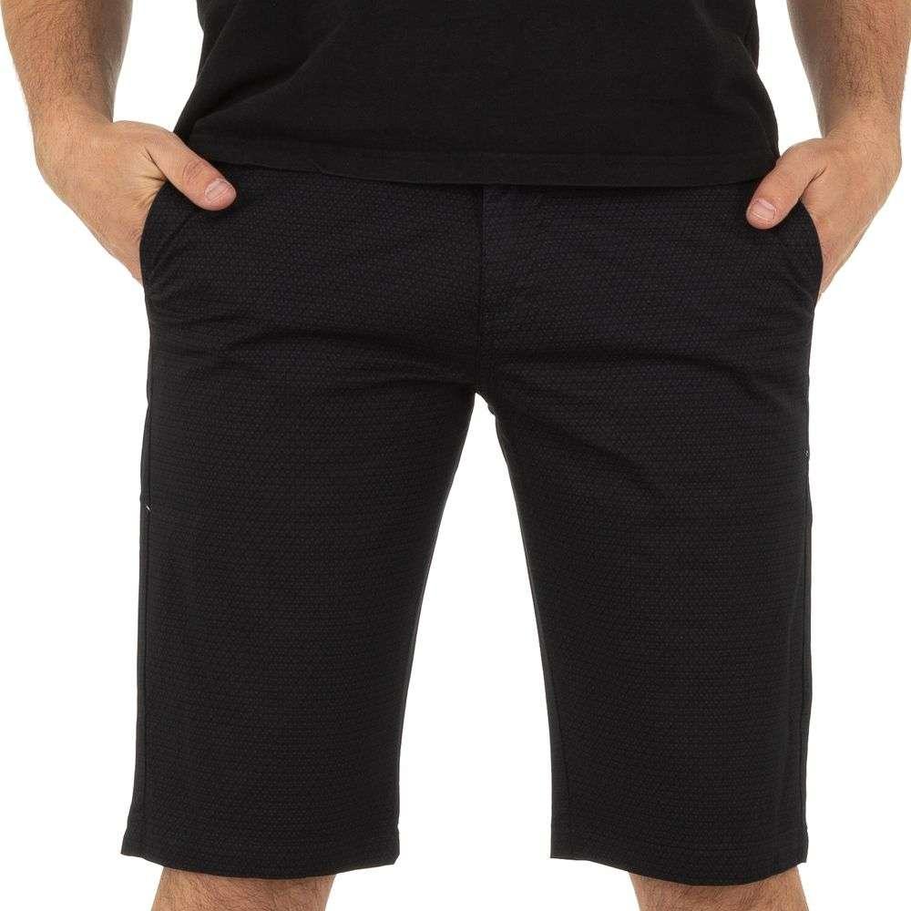 Pantaloni scurți pentru bărbați marca Mastino Jeans - negru - image 4