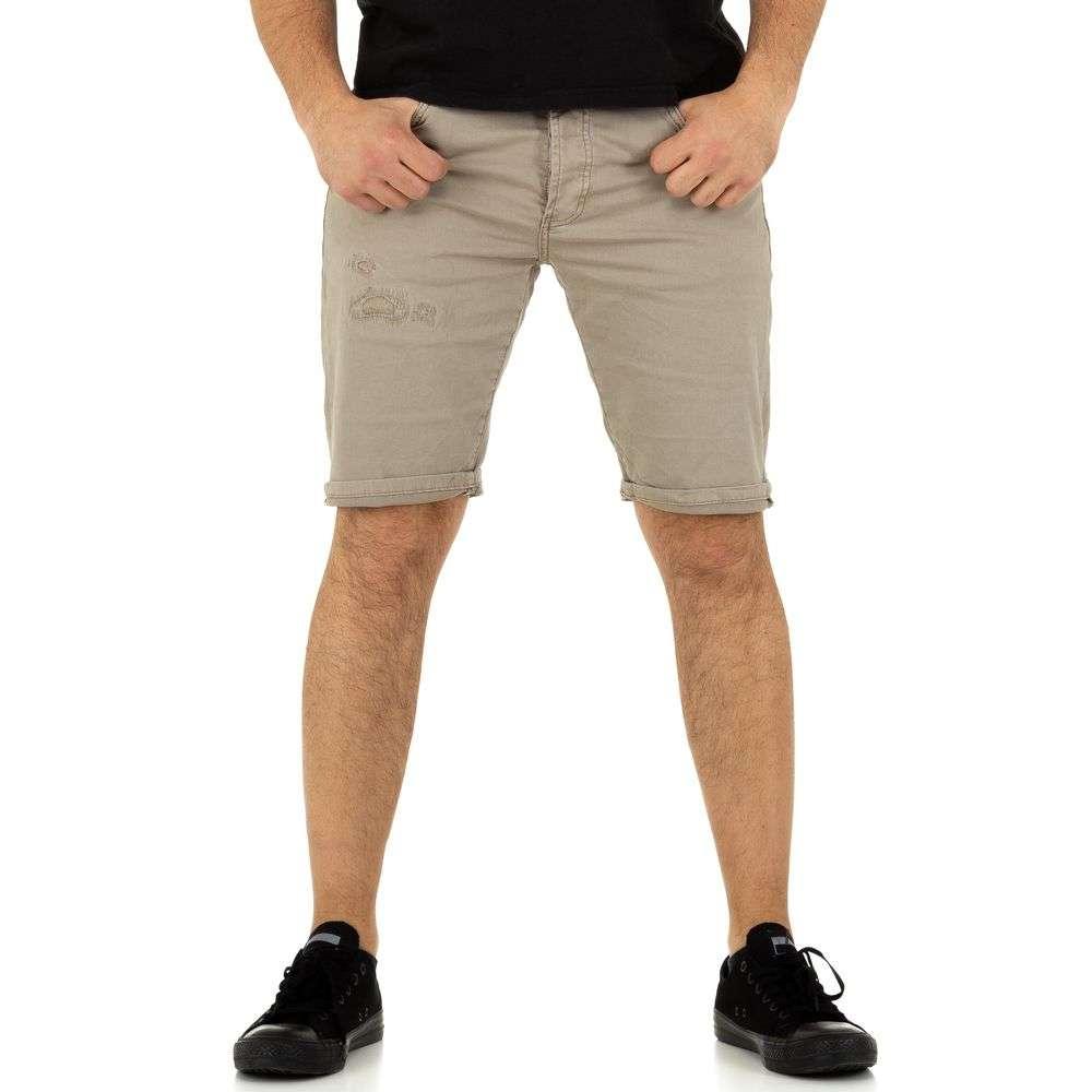 Pantaloni scurți pentru bărbați de Justing Denim - cămilă