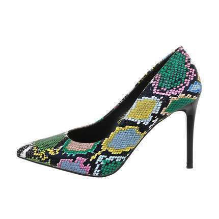 Damen High-Heel Pumps - green