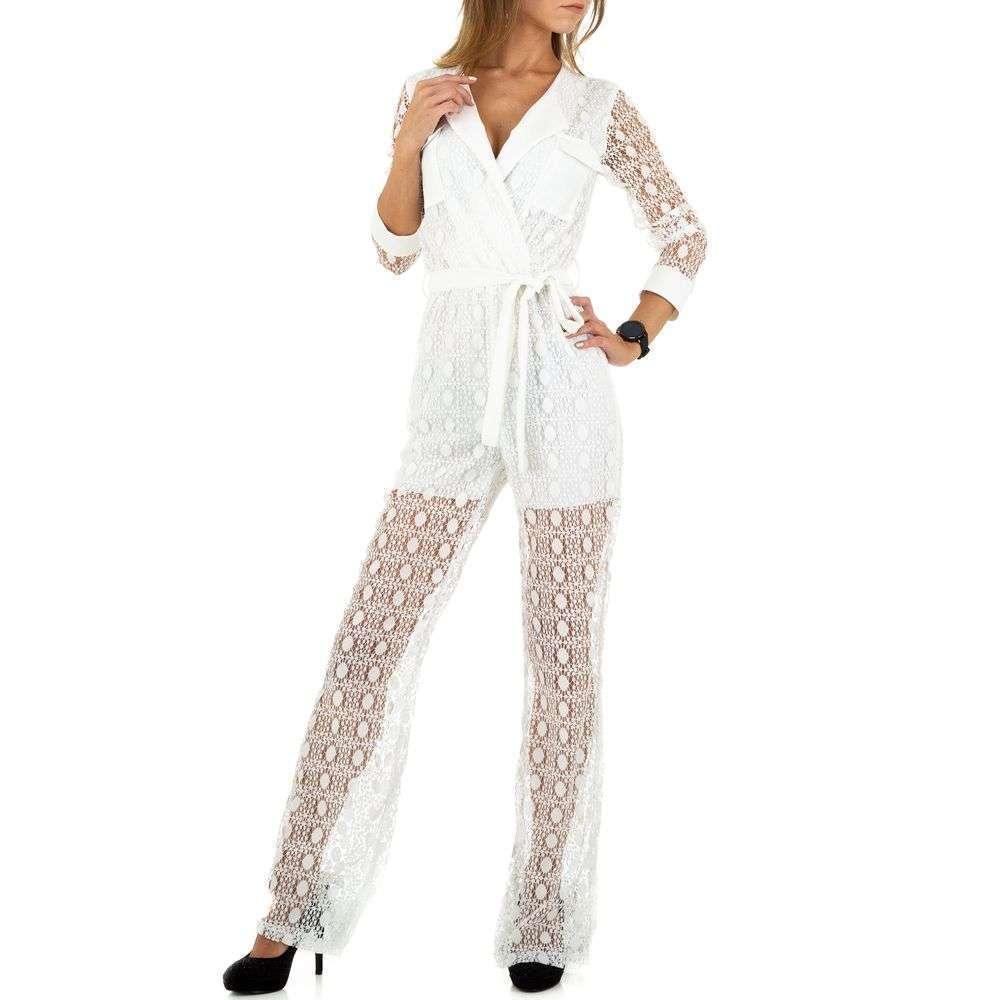 Tricou feminin de Acos - alb