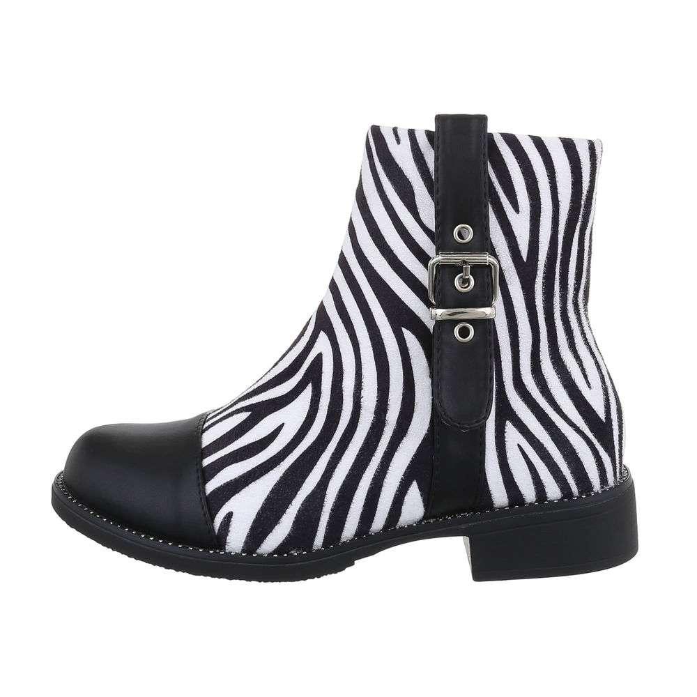 Cizme de damă clasice pentru femei - zebră