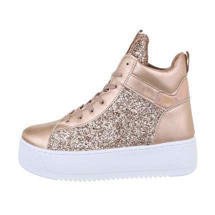 Damen High-Sneakers - champagne