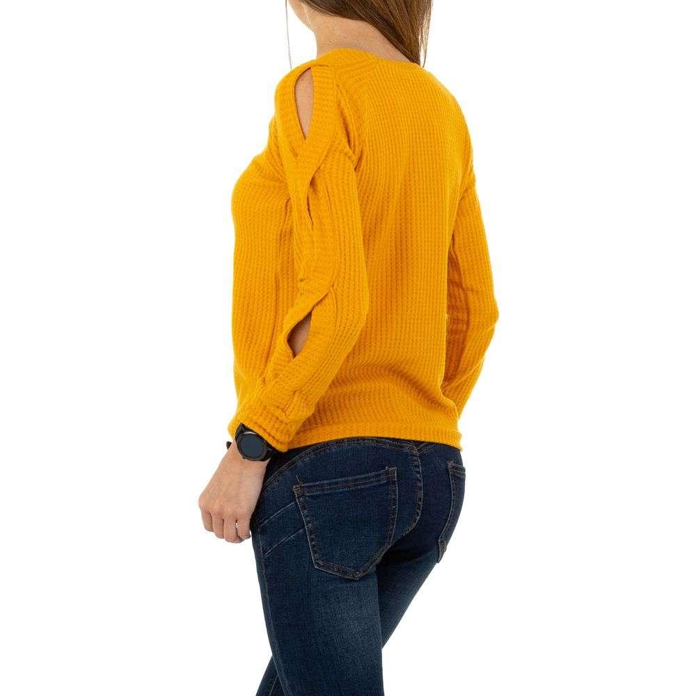 Pulover de dama de la Acos - galben - image 3