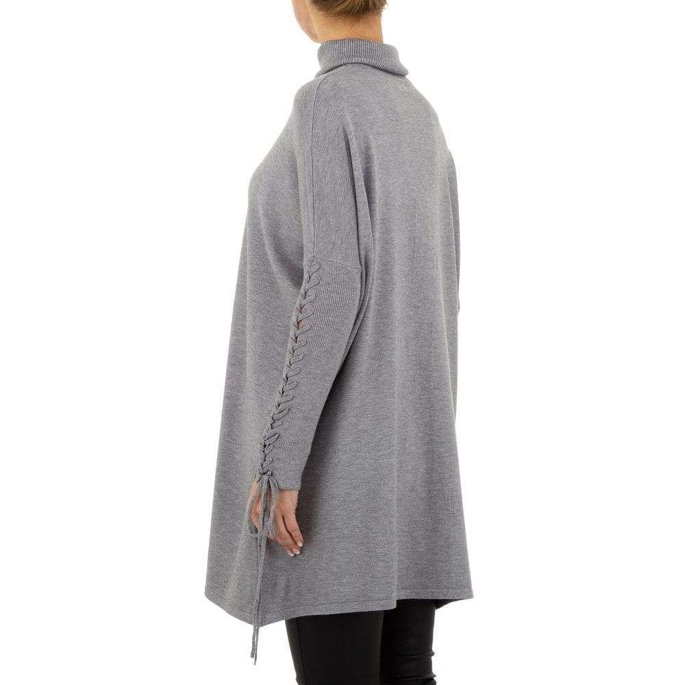 Pulover pentru femei de SHK Paris Gr. O singură mărime - gri - image 3