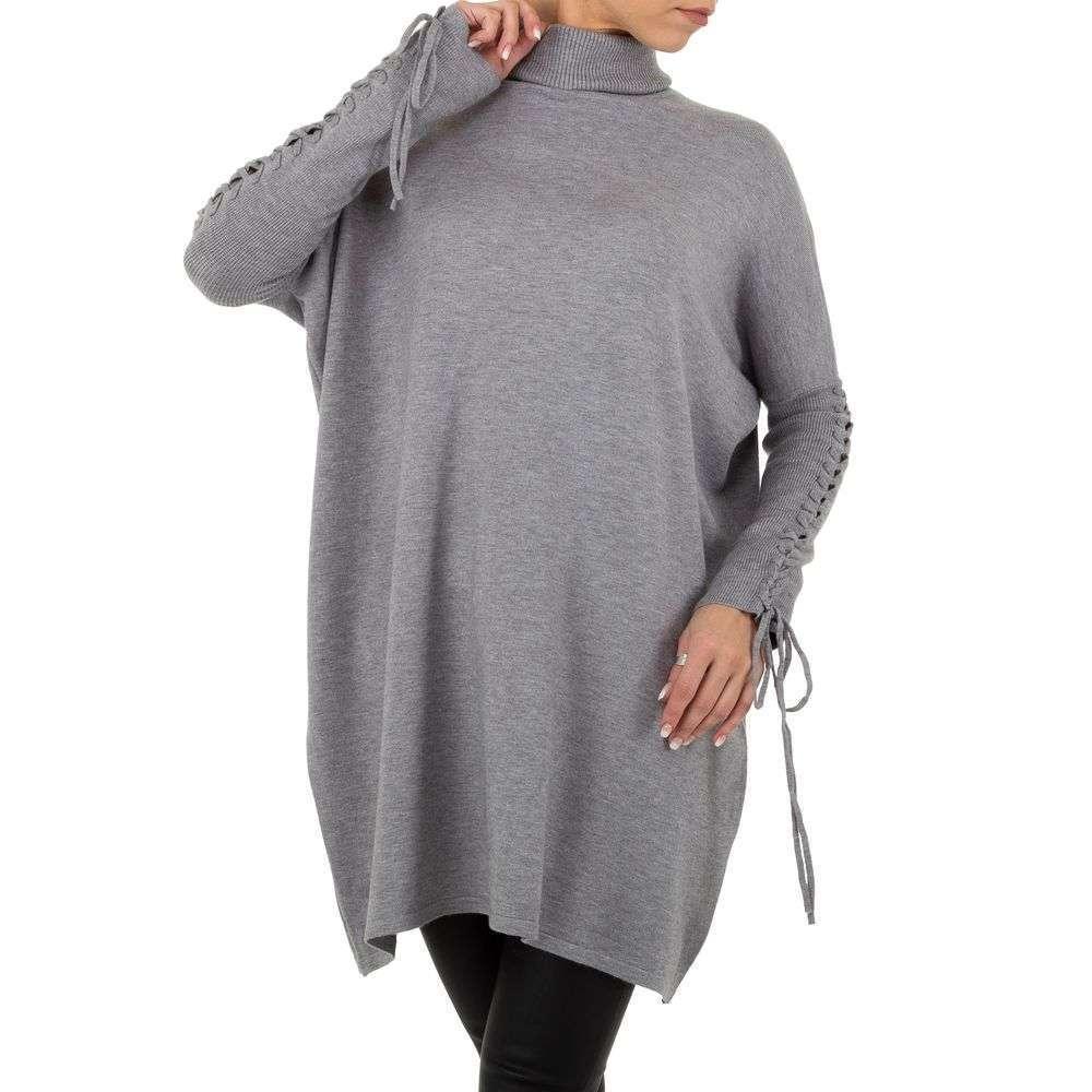 Pulover pentru femei de SHK Paris Gr. O singură mărime - gri - image 4