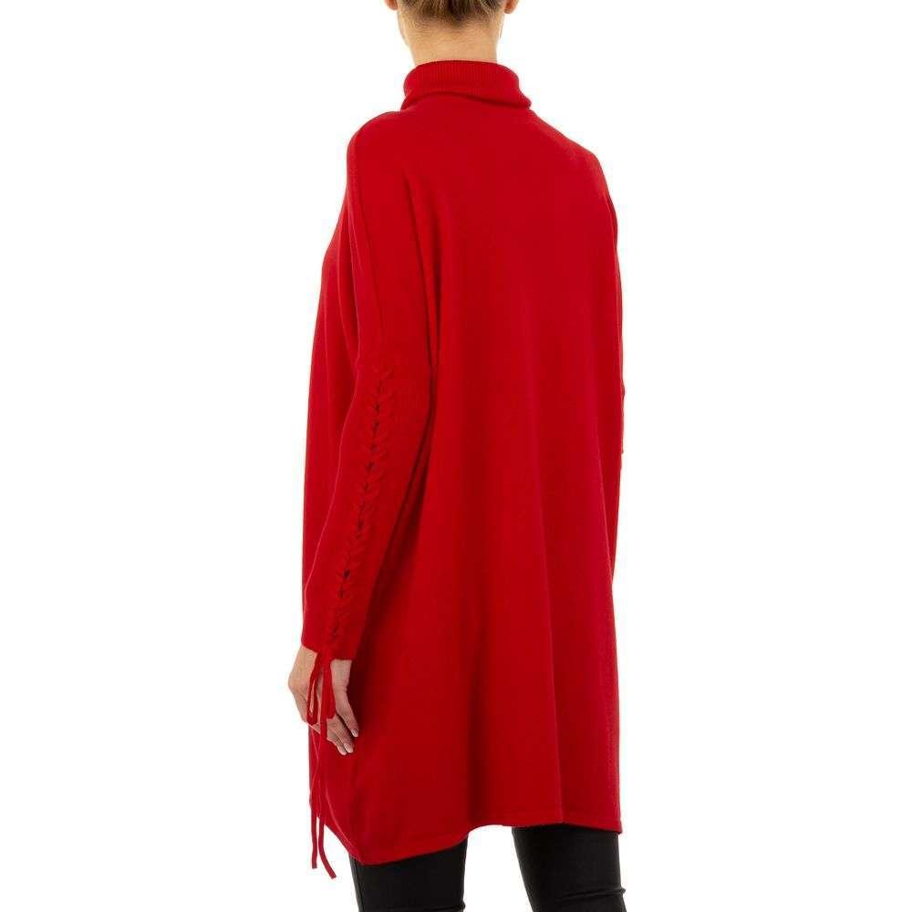 Pulover pentru femei de SHK Paris Gr. O singură mărime - roșu - image 3