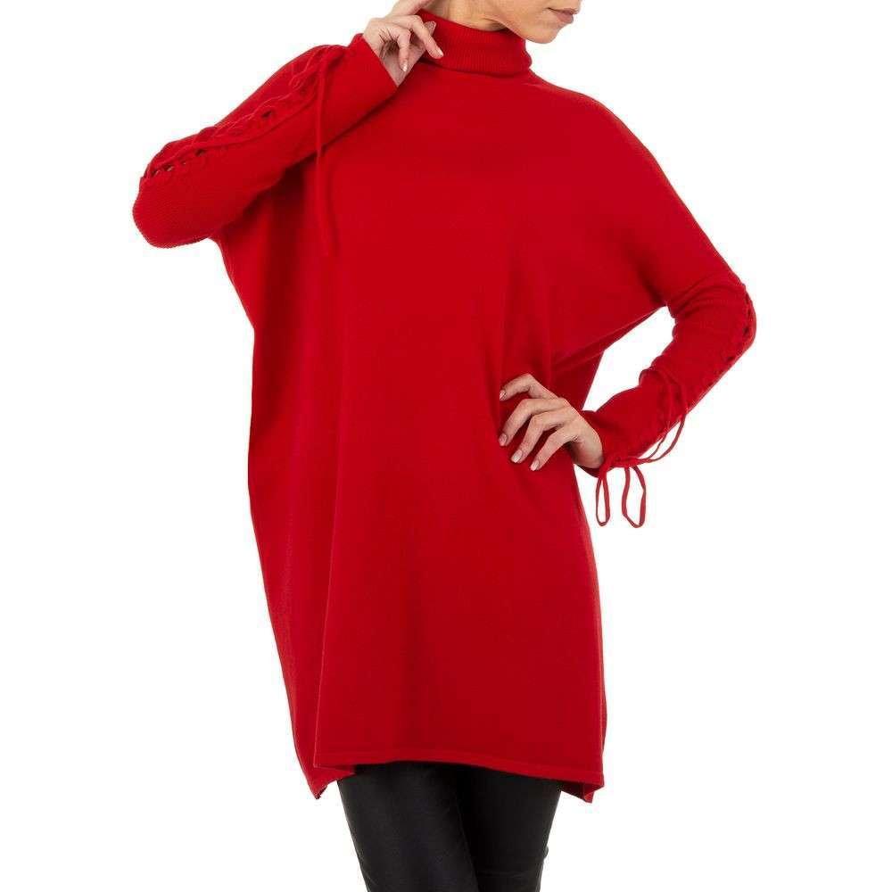 Pulover pentru femei de SHK Paris Gr. O singură mărime - roșu - image 4