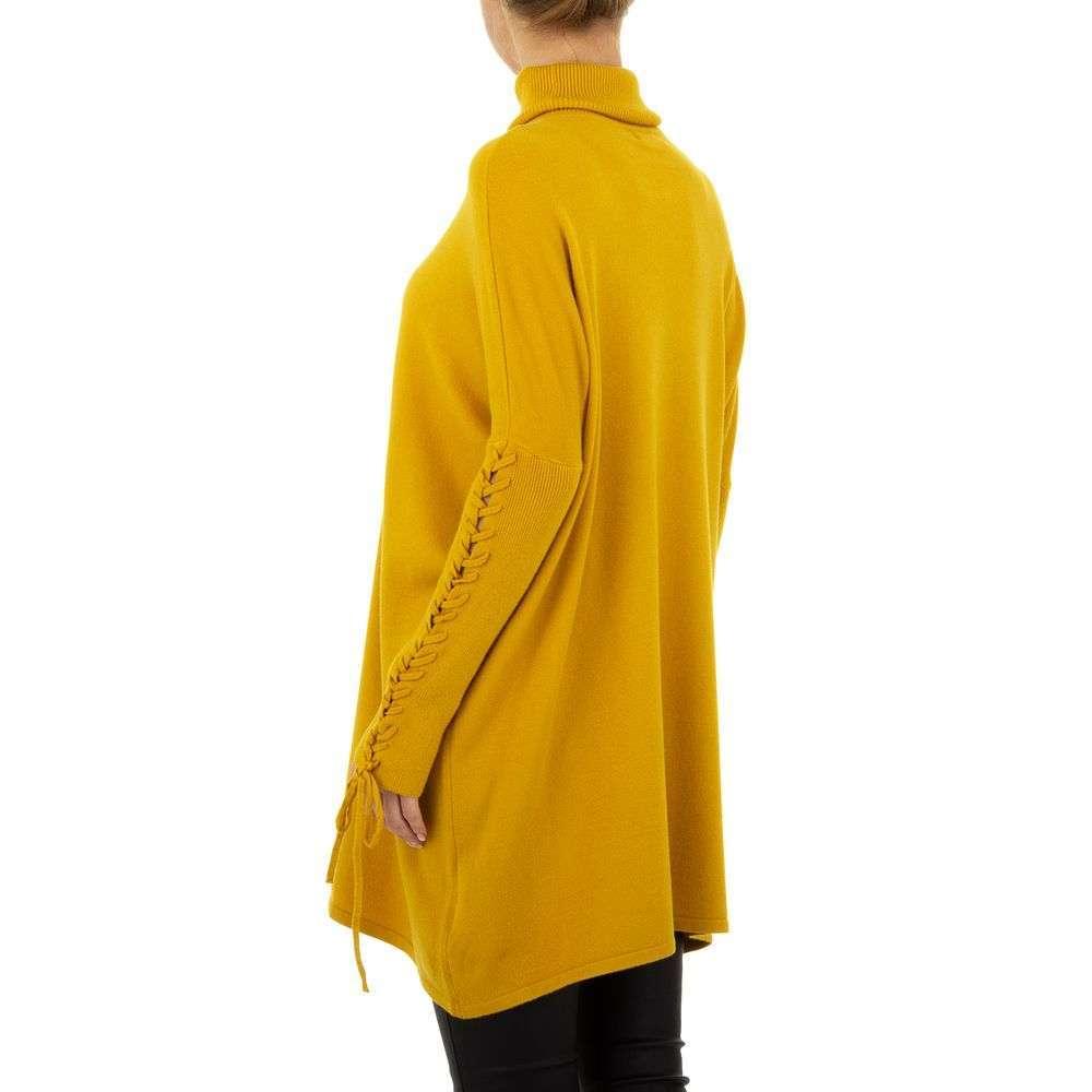 Pulover pentru femei de SHK Paris Gr. O mărime - galben - image 3