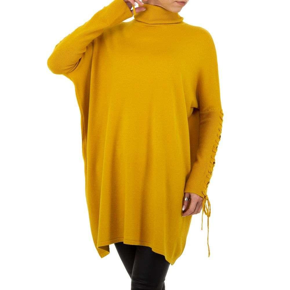 Pulover pentru femei de SHK Paris Gr. O mărime - galben - image 4