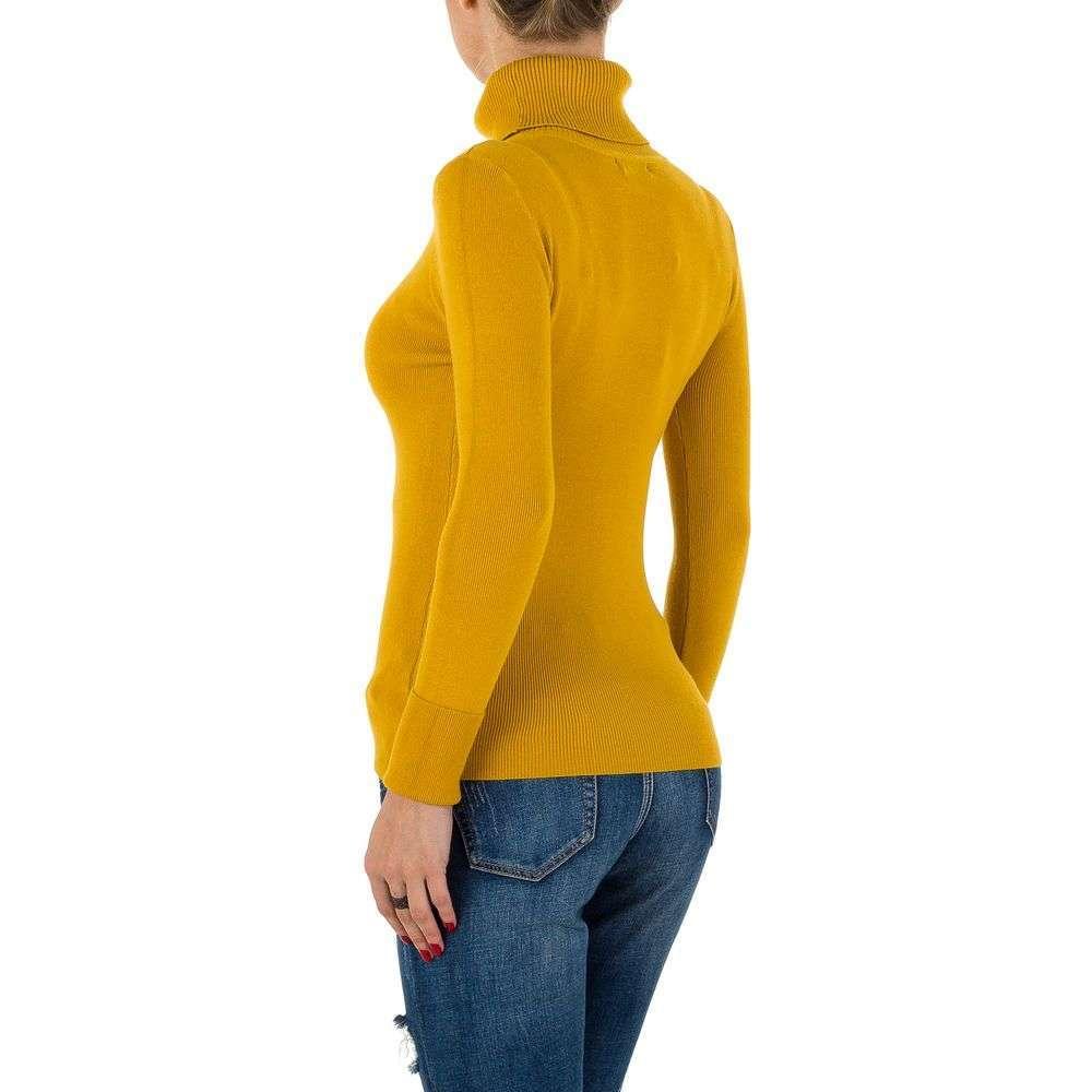 Pulover pentru femei de SHK Paris Gr. O singură mărime - muștar - image 3