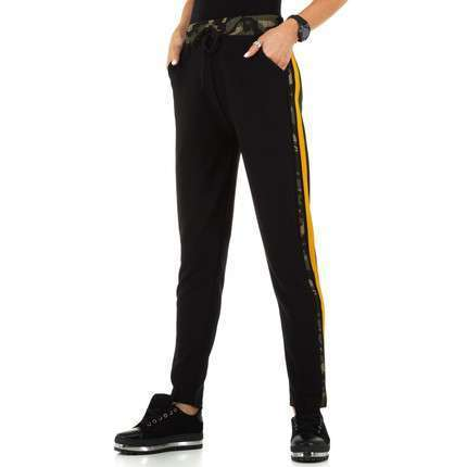 Damen Hose von Holala - blackyellow