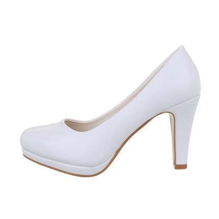 Damen High-Heel Pumps - white