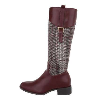 Damen High-Heel Stiefel - marron