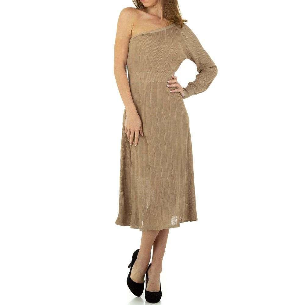Rochie pentru femei de Voyelles Gr. O singură mărime - bej