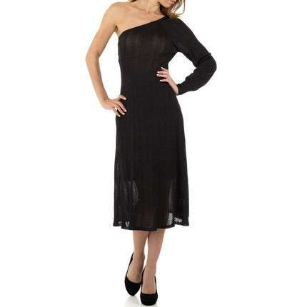 Damen Kleid von Voyelles Gr. One Size - black